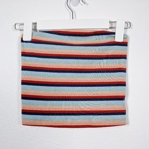 American Eagle Sleeveless Striped Tube Top Size XS